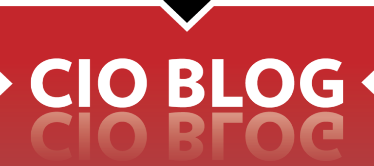 CIO Blog