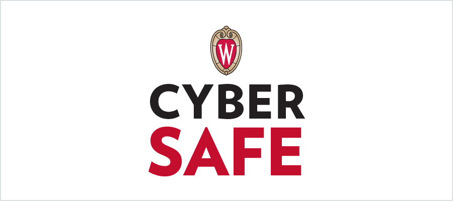 W crest with the words Cyber Safe underneath.