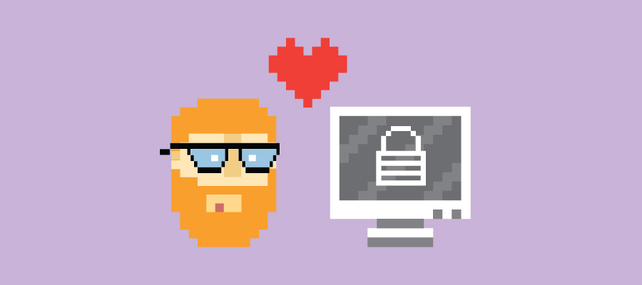 8-bit Cybersecurity Nerd