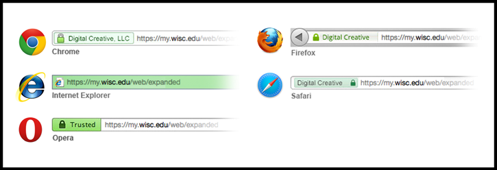 Examples of Secure Websites