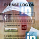 LinkedIn, Myspace, Tumblr icons on an account login screen.