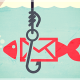 Email fish on hook.