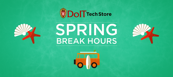 Spring Break Tech And Help Desk Hours