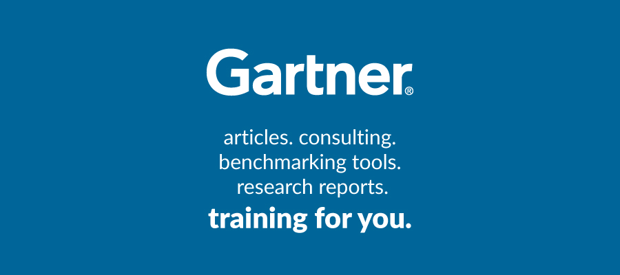 Gartner articles. consulting. benchmarking tools. research reports. training for you.