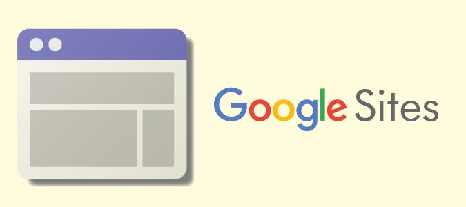 create websites using google sites  u2014 no experience