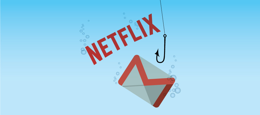 Image of Netflix phishing icon