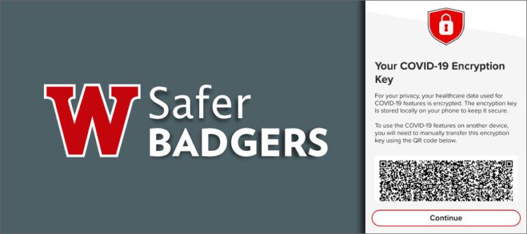 Safer Badgers QR code