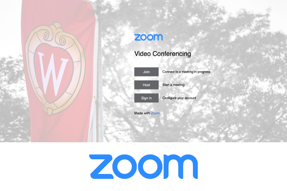 uwmadison.zoom.us login page