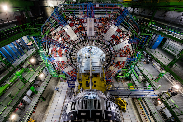 photo of the large hadron colider