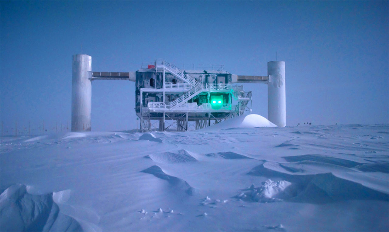 Ice Cube South Pole Neutrino Observatory