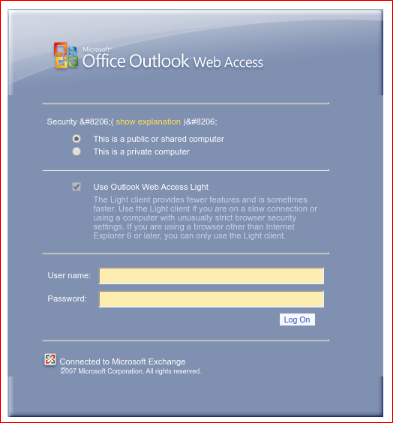 malicious website login resembling the Office 365 Outlook web client login page